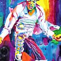 Michael Jackson Fire  by David Lloyd Glover