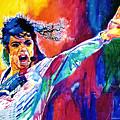 Michael Jackson Force by David Lloyd Glover