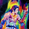 Michael Jackson Showstopper by David Lloyd Glover