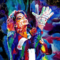 Michael Jackson Sings by David Lloyd Glover