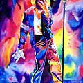 Michael Jackson Sparkle by David Lloyd Glover