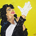 Michael Jackson The Hand by Arlene  Wright-Correll