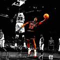 Michael Jordan Left Hand by Brian Reaves