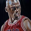 Michael Jordan by Mikayla Ziegler