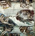 Michelangelo: Adam by Granger