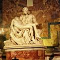 Michelangelo Masterpiece Of A Mother's Love by Brenda Kean