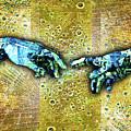 Michelangelo's Creation Of Man by Tony Rubino