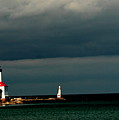 Michigan City Lighthouse By Earl's Photography by Earl Eells a