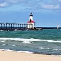 Michigan City Lighthouse by Mary Watson