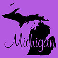 Michigan In Black by Custom Home Fashions