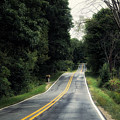 Michigan Rural Roadway In September by Thomas Woolworth