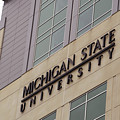 Michigan State University Signage 02 by Thomas Woolworth