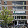 Michigan State University Welcome To Akers Signage by Thomas Woolworth