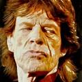 Mick Jagger by Charmaine Zoe