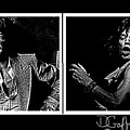 Mick Jagger by Dave Gafford