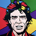 Mick Jagger by James Lee