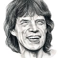 Mick Jagger by Murphy Elliott