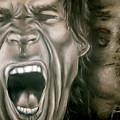 Mick Jagger by Zach Zwagil