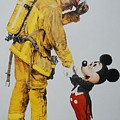 Mickey And The Bravest by Rob Hans
