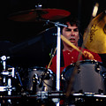 Mickey Hart Grateful Dead Alpine Valley 1987 by Ray Manning