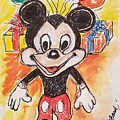 Mickey Mouse 90th Birthday Celebration by Geraldine Myszenski