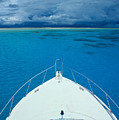 Micronesia, Boat Bow by Rick Gaffney - Printscapes