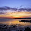 Mid April Sunset by Joe Geraci