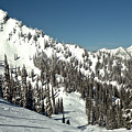Mid Winter On The Fernie Slopes by Adam Jewell