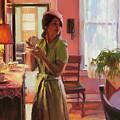 Midday Tea by Steve Henderson