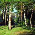 Midday Warmth In A Forest Impressionism by Georgiana Romanovna