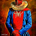 Middle Ages Spider Man by Leonardo Digenio