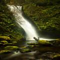 Middle Bridal Veil Falls by Ingrid Smith-Johnsen