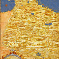 Middle East Georgia, Armenia, Azerbaijan, Iraq, Western Iran by Italian painter of the 16th century
