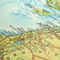 Middle East Map. by Fernando Barozza
