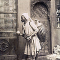 Middle Eastern Street Vendor by Underwood Archives