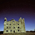 Midnight Blue At Leamanch Castle The Gateway To The Burren by Niall Cosgrove