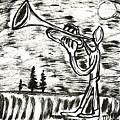 Midnight Horn by Mario MJ Perron