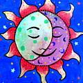 Midnight Sun And Moon by Pristine Cartera Turkus