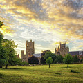 Midsummer Evening In Ely by James Billings