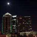 Midtown Atlanta At Night by Jill Lang