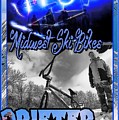 Midwest Ski Bikes by Michael Drake