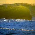 Mighty Ocean At Sunrise by Dianne Cowen