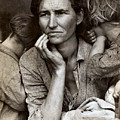 Migrant Mother by Dorothea Lange Presented by Joy of Life Art