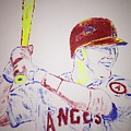 Mike Trout by Jack Bunds