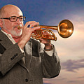 Mike Vax Professional Trumpet Player Photographic Print 3765.02 by M K  Miller
