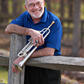 Mike Vax Professional Trumpet Player Photographic Print 3766.02 by M K  Miller