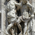 Milan Italy Cathedral Statues by Gregory Dyer