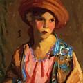 Mildred O Hat by Henri Robert