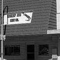 Miles City, Montana - Downtown Bw by Frank Romeo