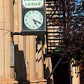 Miles City, Montana - Downtown Clock by Frank Romeo